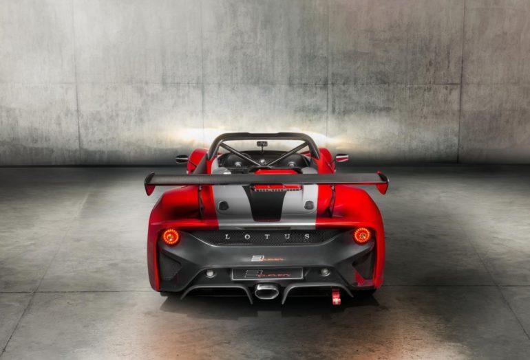 Rear Lotus 3-Eleven 430