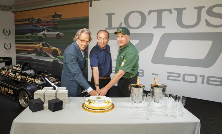 70 years of Lotus