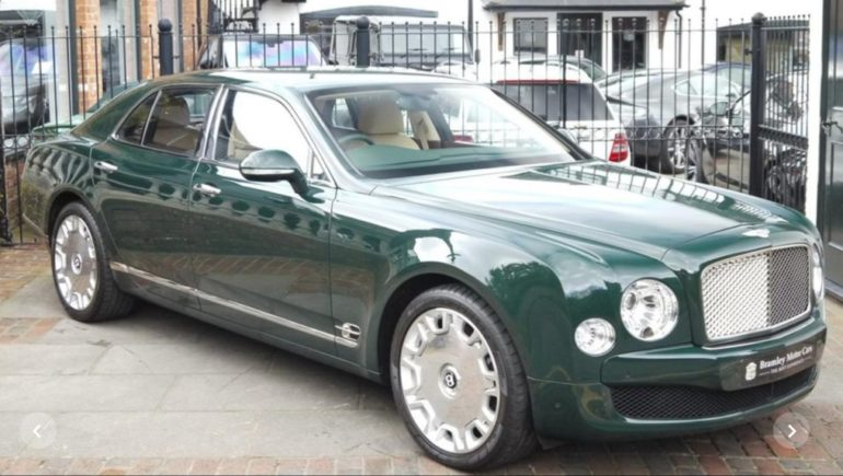 Her Majesty's Bentley Mulsanne