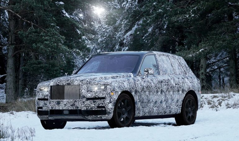 Rolls-Royce Names First SUV Cullinan